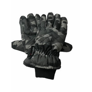 3M Camouflage Grey Youth Boys Thinsulate Gloves